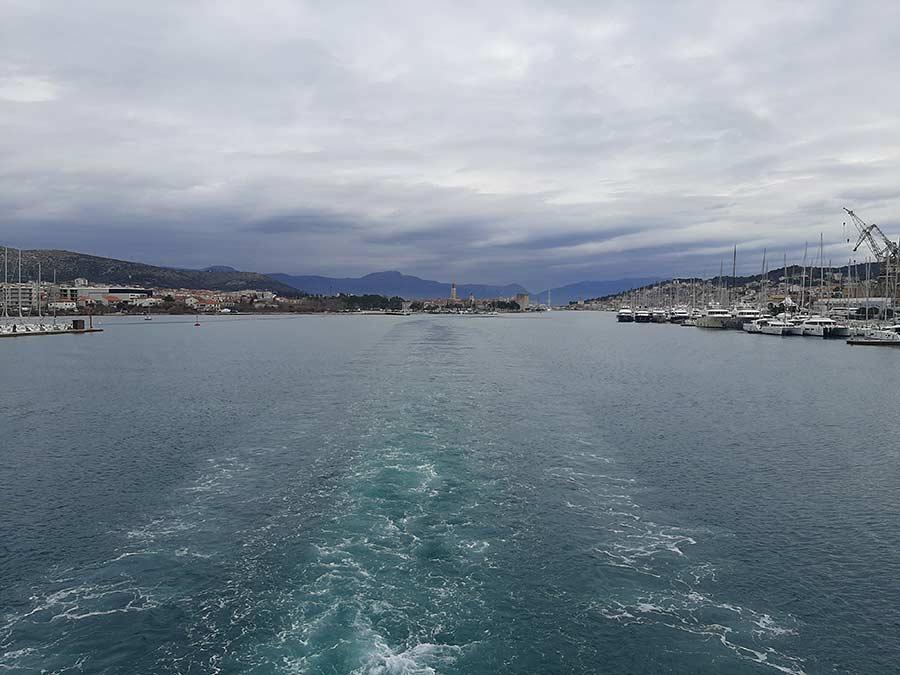 Pogreb na moru Hrvatska