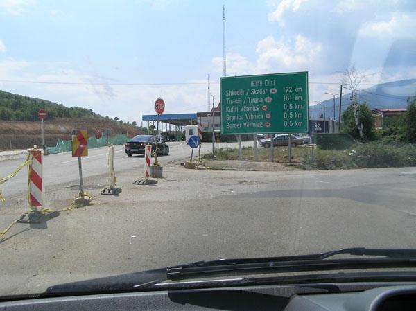 Prijevoz u Albaniju