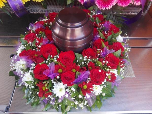 Cvijeće za urnu Trogir