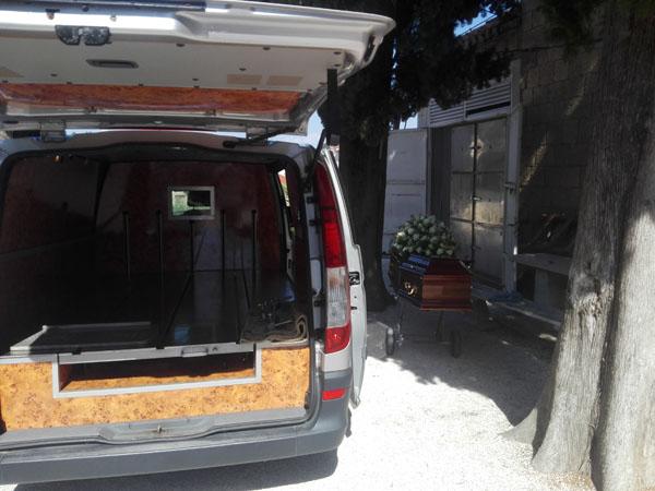 Lijes za pogreb Trogir