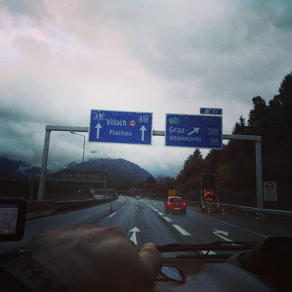 Međunarodni prijevoz pokojnika Austrija
